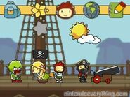 Scribblenauts unlimited 3DS Ship