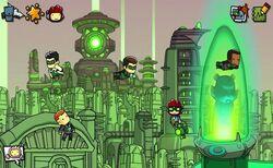 Scribblenauts Unmasked Green Lanterns.jpg