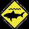 Shark Caution Sign.png