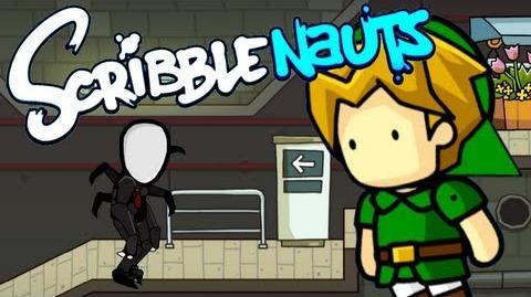 Scribblenauts Unlimited 2 Slender Man vs Chuck Norris!