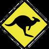 Kangaroo Crossing Sign.png