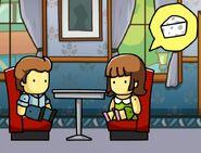 A date in Scribblenauts