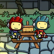 Maxwell and Doppelganger Picnic