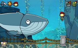 Scribblenauts Unmasked Strange Cetacean.jpg