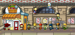 Scribblenauts Unmasked Maxwell and Others.png