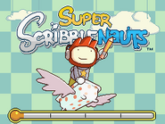 Super Scribblenauts Title Screen