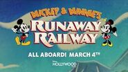 New Marquee for Mickey & Minnie's Runaway Railway Lights Up Disney's Hollywood Studios
