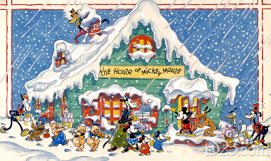 Christmas Party at the House of Mickey Mouse