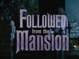 Followed from the Mansion