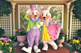 Disneyland Easter Bunny & Wife