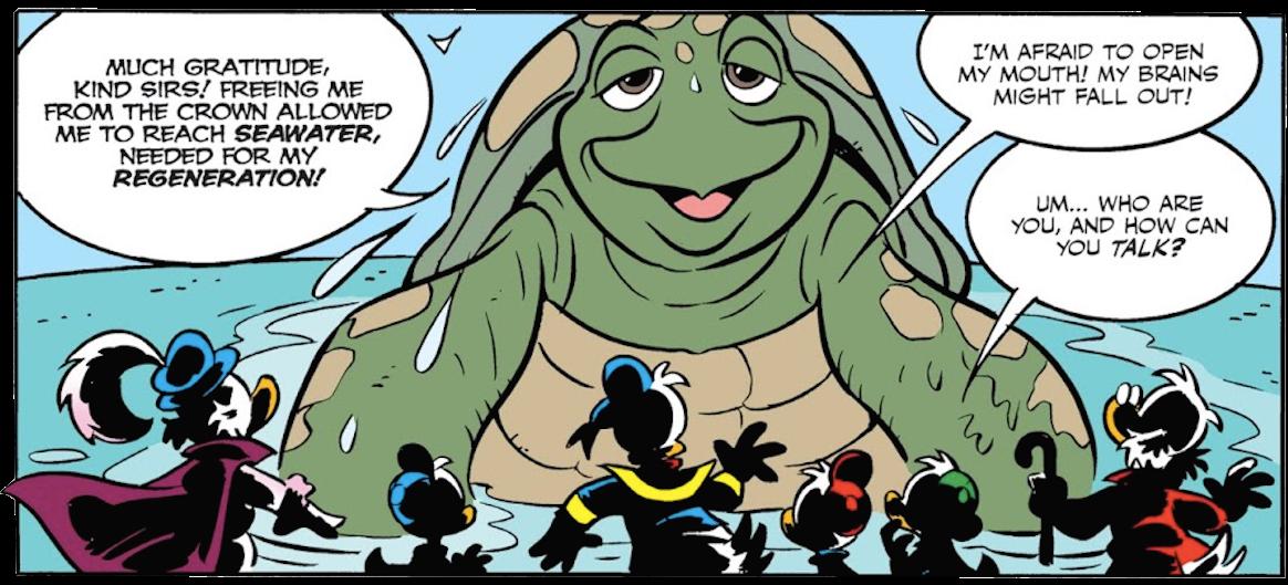Reincarnating Turtle