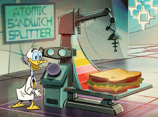 Atomic Sandwich Splitter