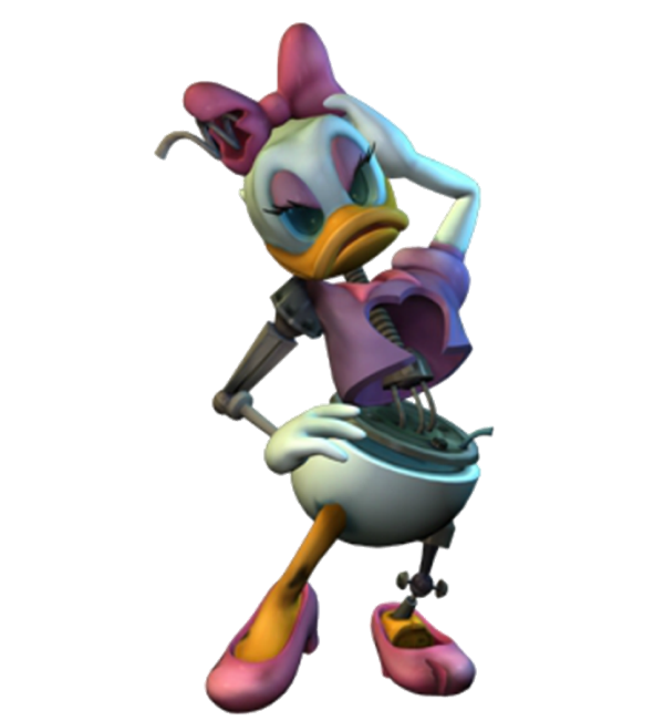 Animatronic Daisy Duck