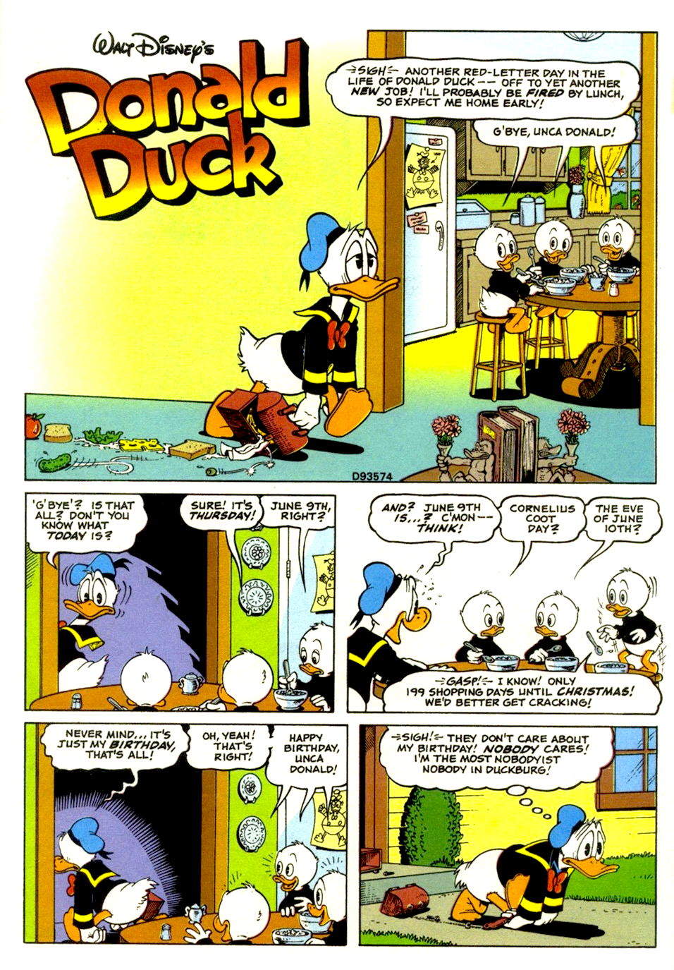 The Duck Who Never Was