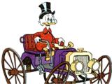 Scrooge McDuck's Old Car