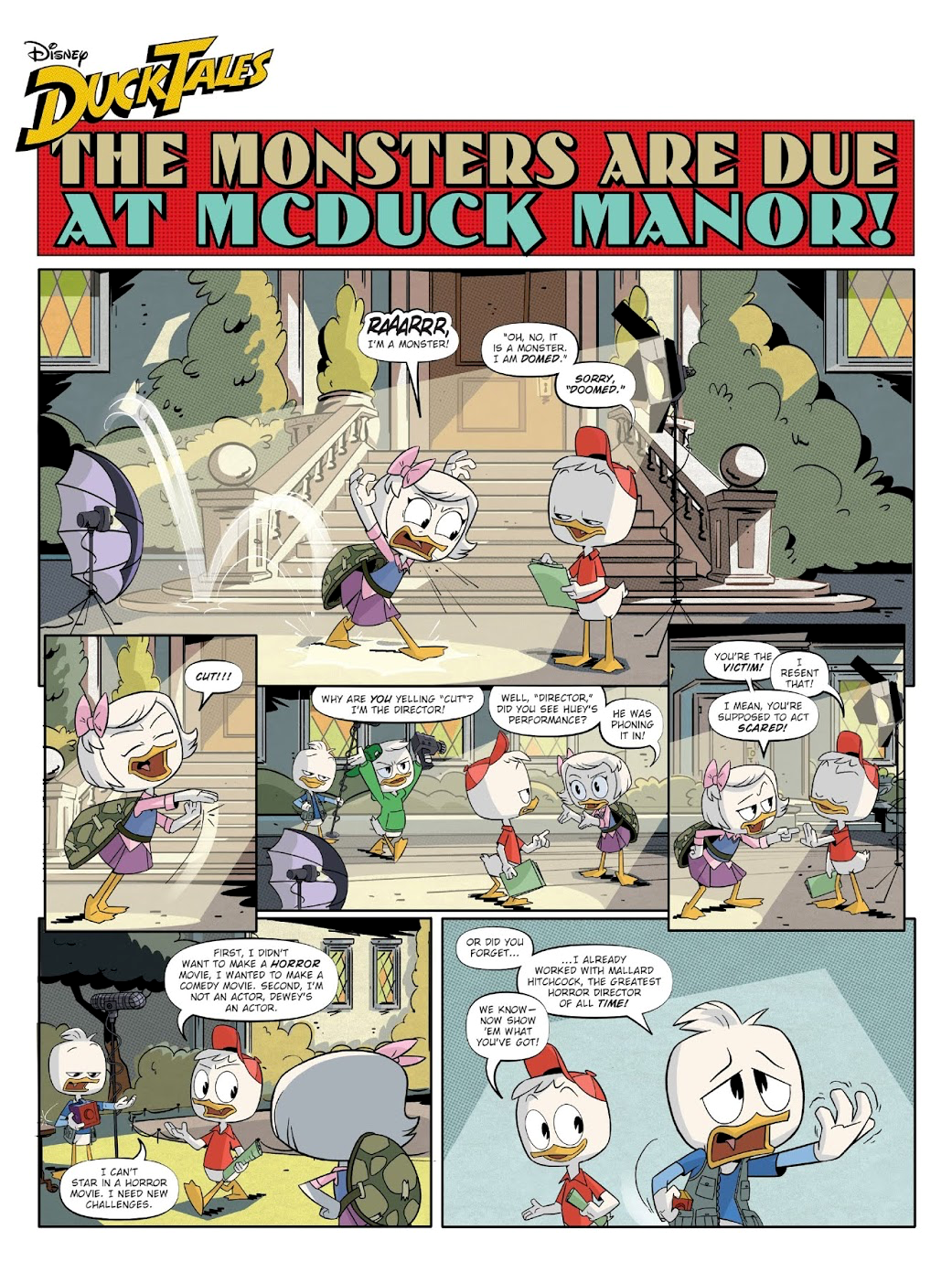 The Monsters Are Due at McDuck Manor!