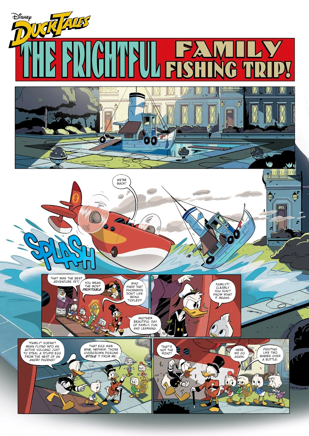 The Frightful Family Fishing Trip