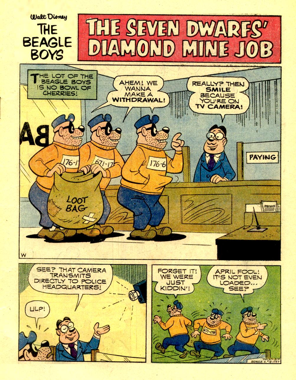The Seven Dwarfs' Diamond Mine Job