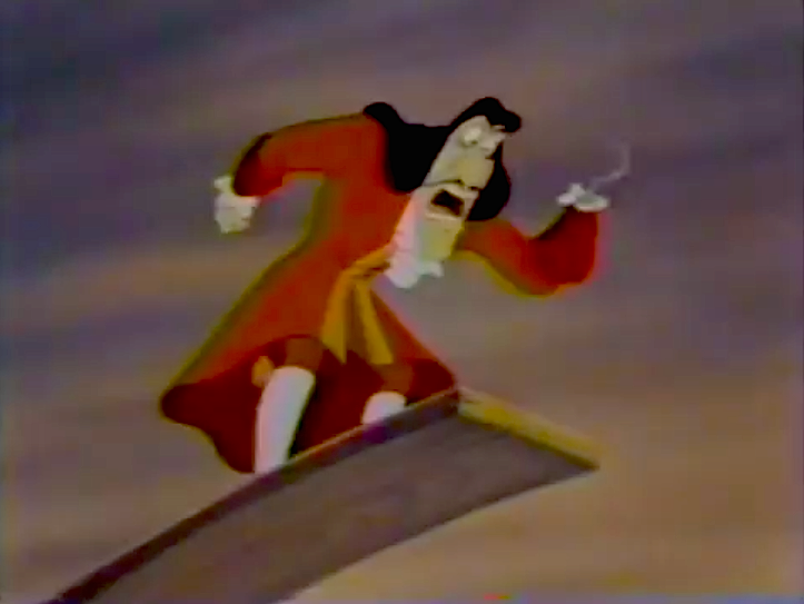 Toon Captain Hook
