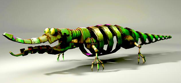 Animatronic Croc