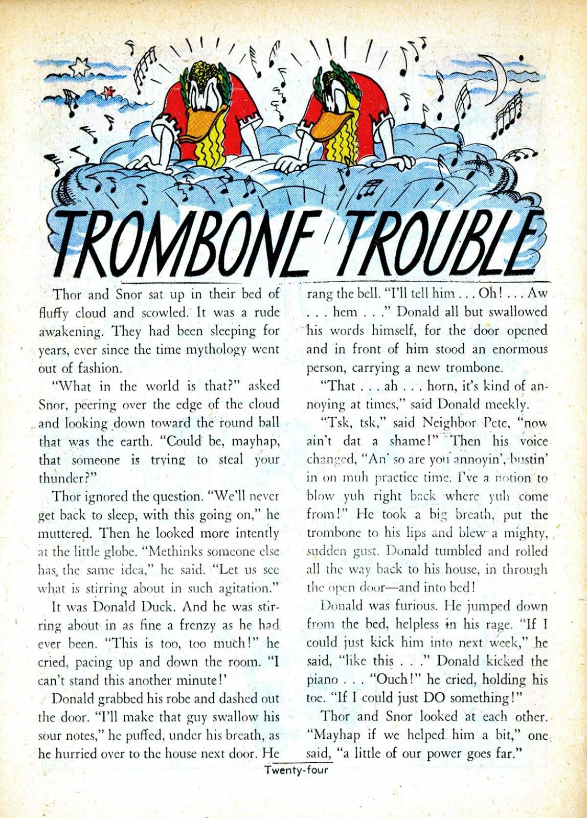 Trombone Trouble (short story)