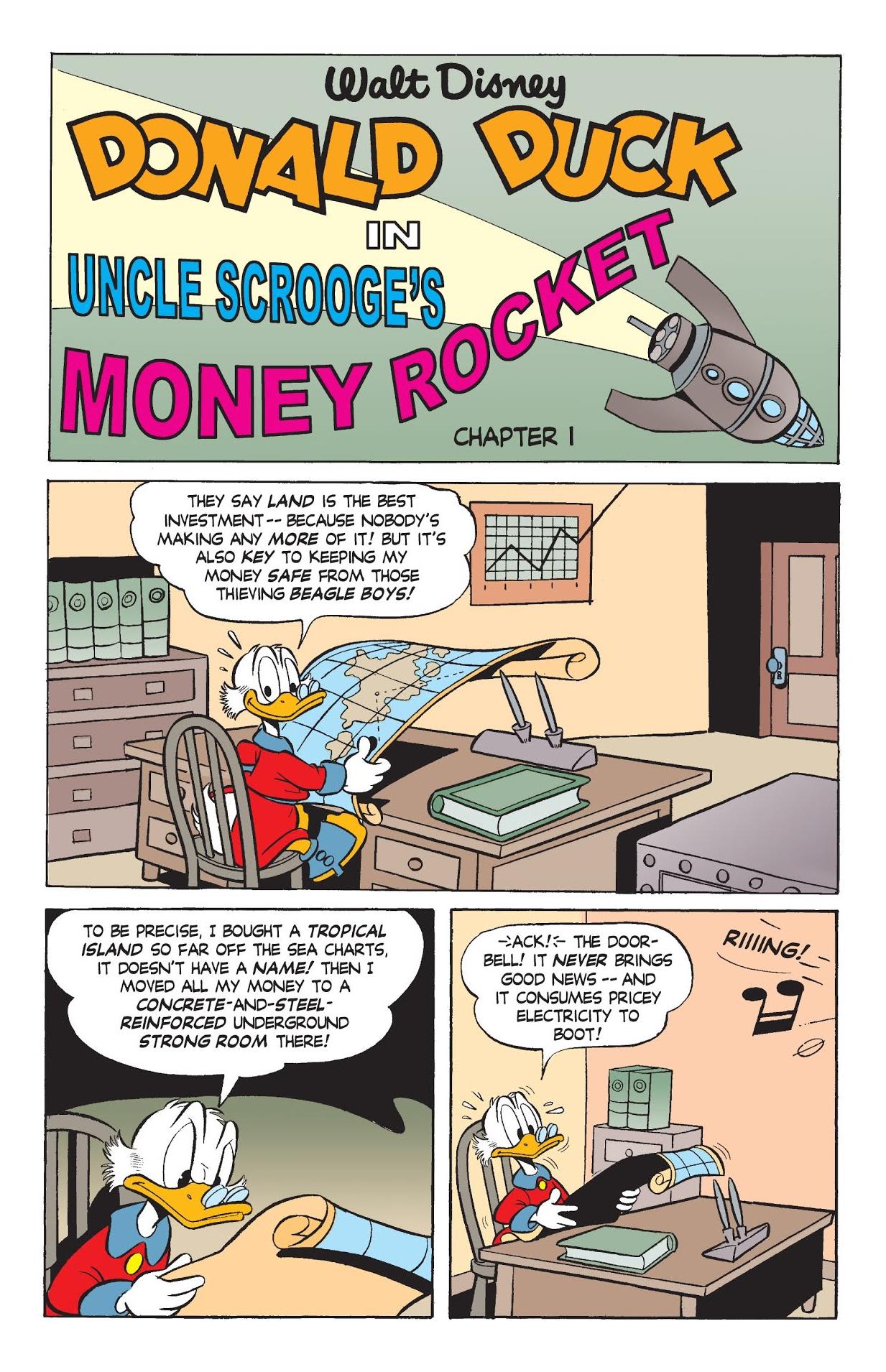 Uncle Scrooge's Money Rocket