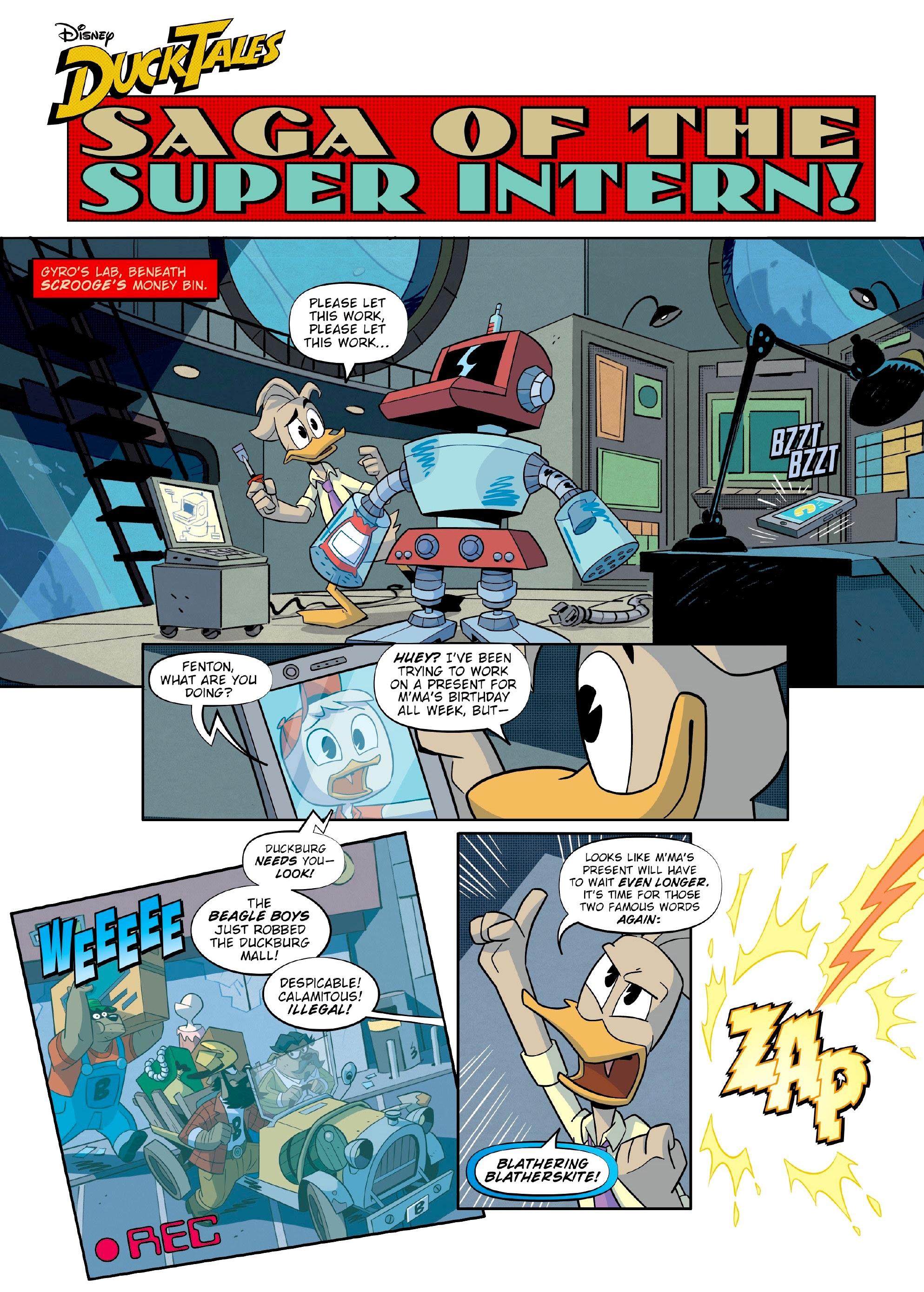 Saga of the Super-Intern