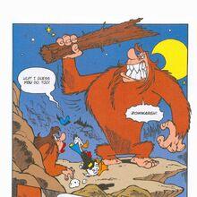 Bigfoot getting jealous of Donald Duck.jpeg