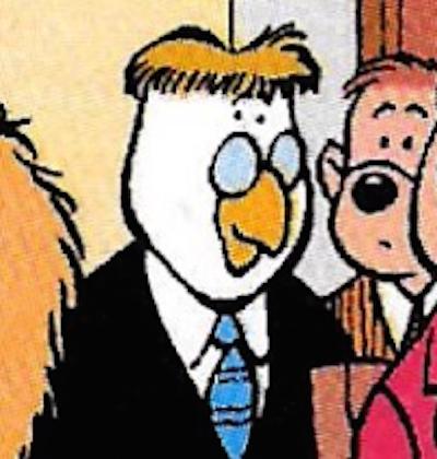 Mr Goose (Luke's Father)
