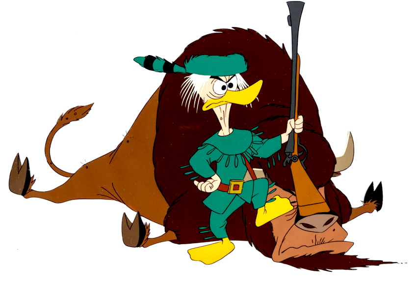 Grandpa Duck (No Hunting)