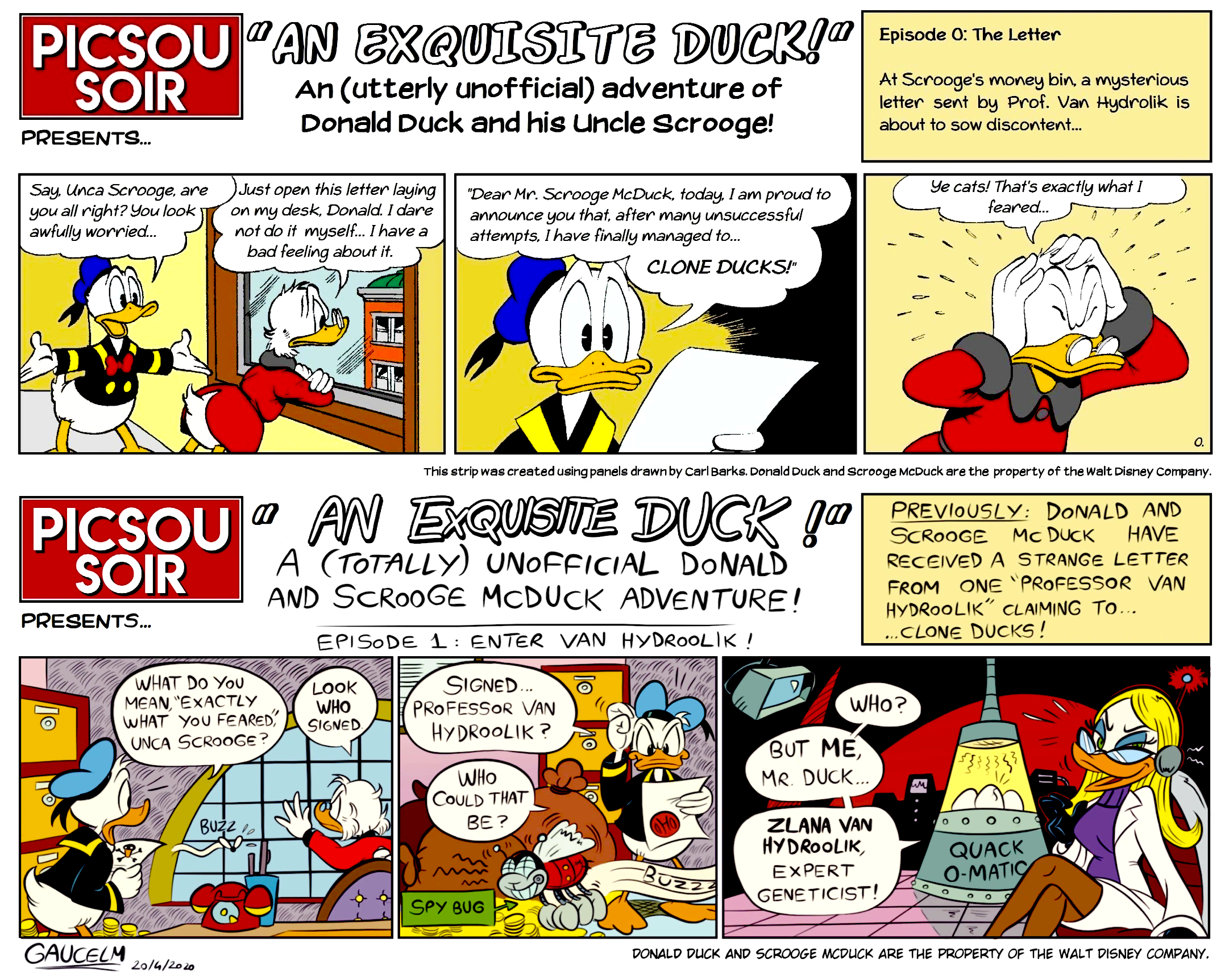 An Exquisite Duck!