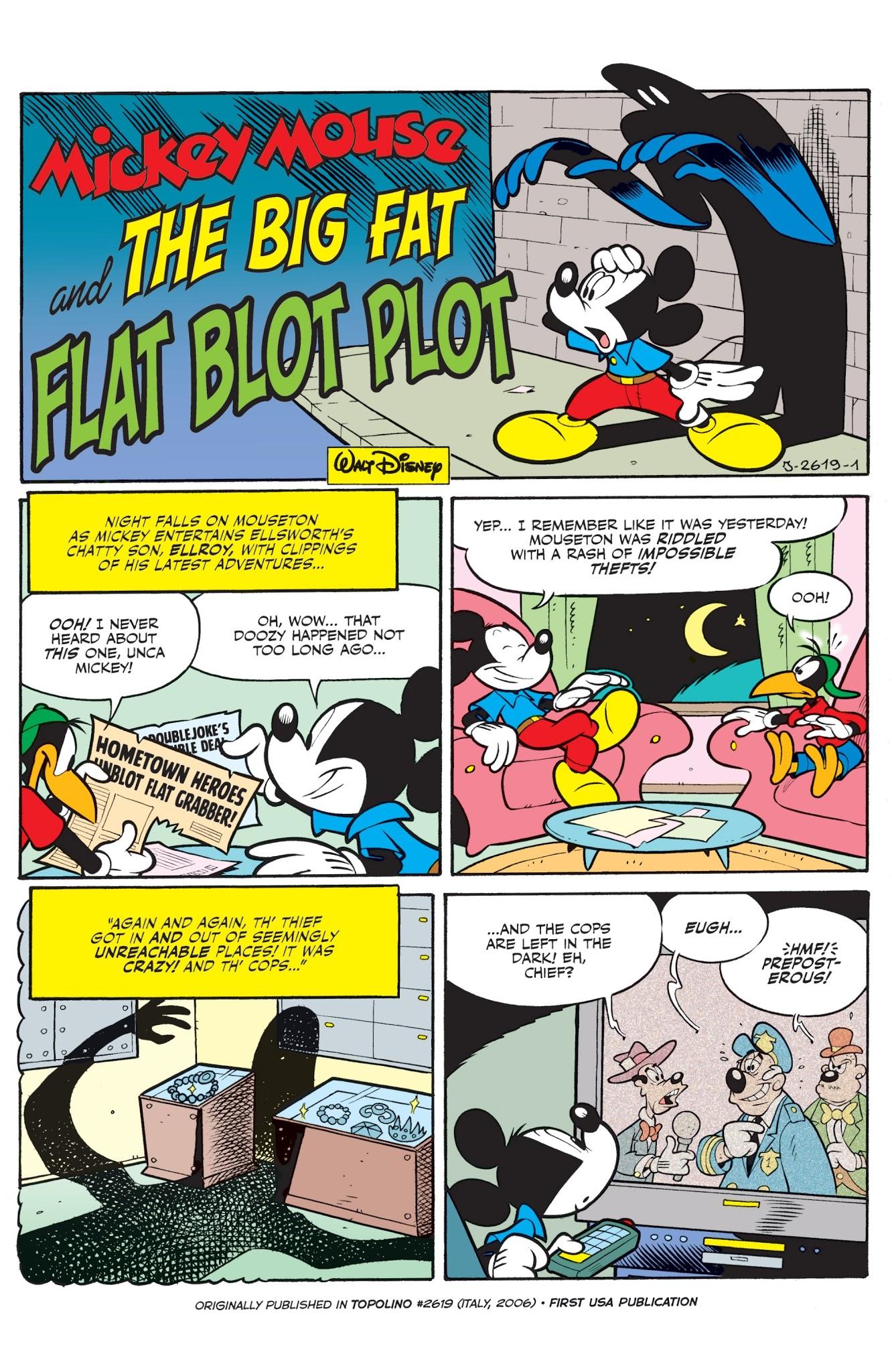 The Big Fat Flat Blot Plot