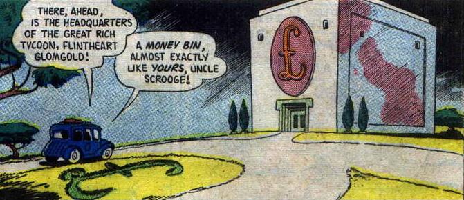 Glomgold's Money Bin