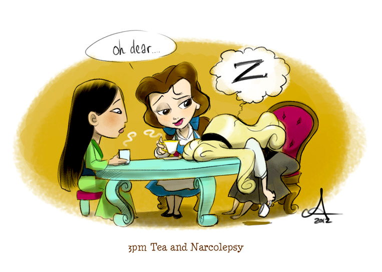 3 p.m. Tea and Narcolepsy