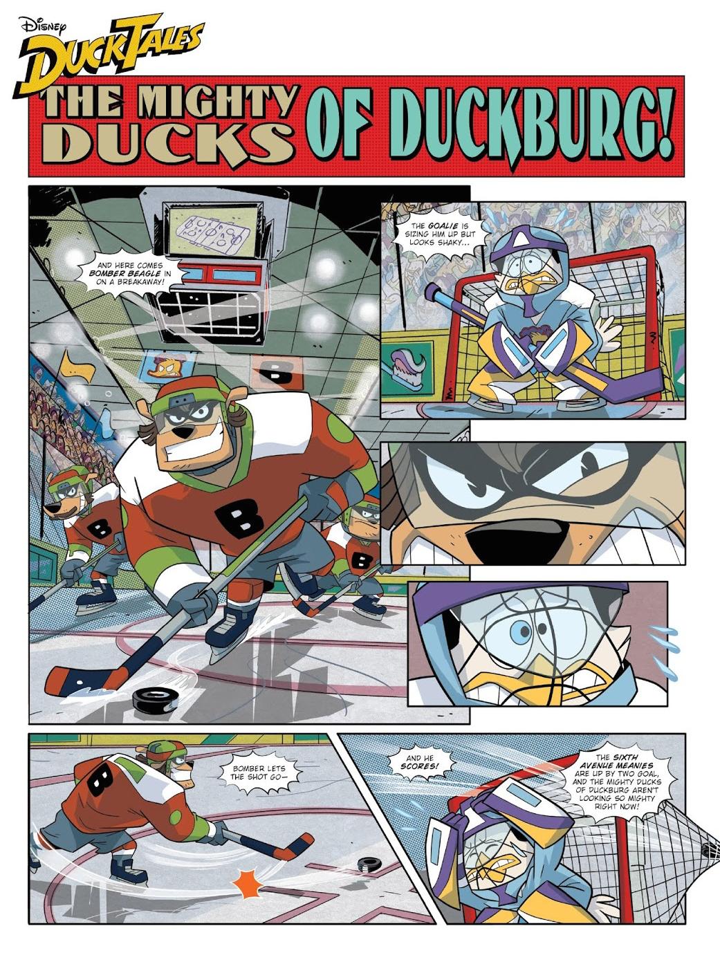 The Mighty Ducks of Duckburg