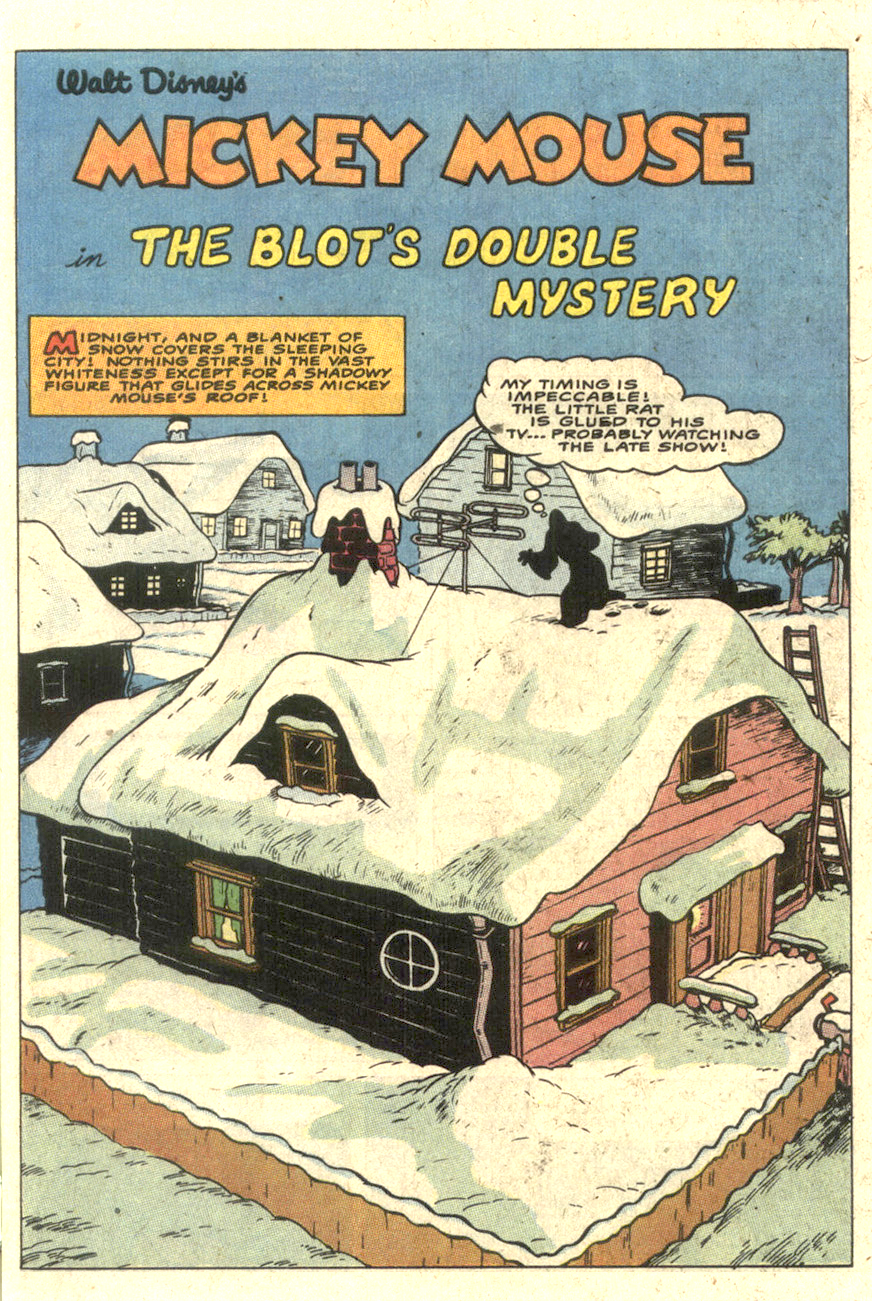 The Blot's Double Mystery