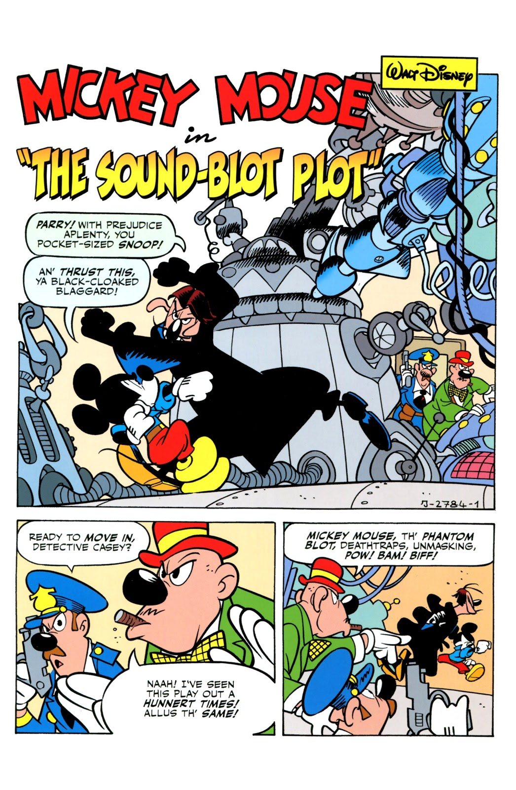 The Sound-Blot Plot