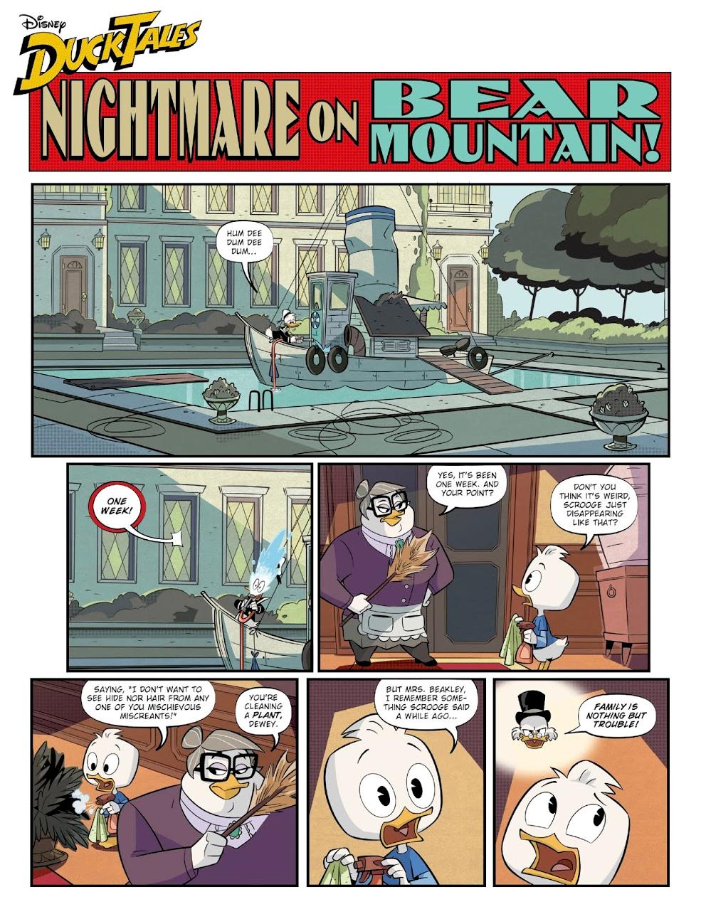 Nightmare on Bear Mountain