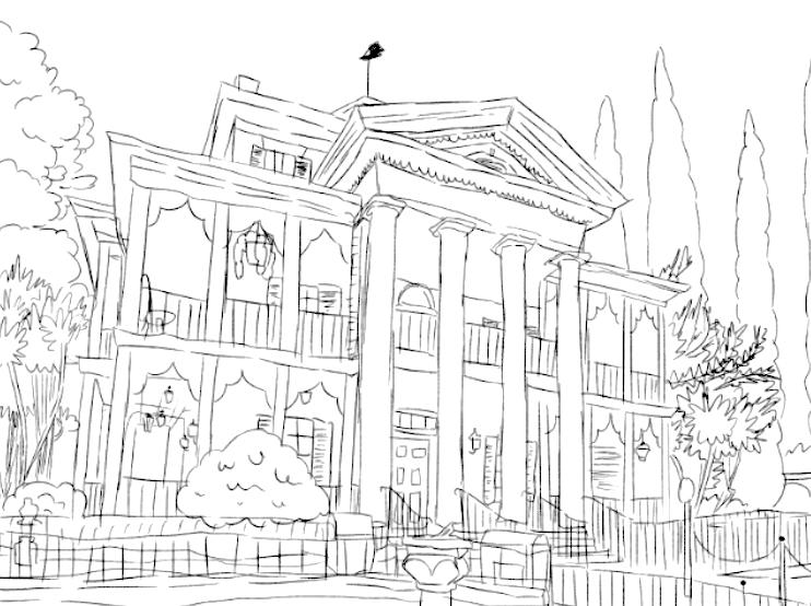 Haunted Mansion (Rain's World)