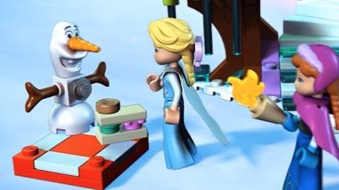Elsa's Sparkling Ice Castle
