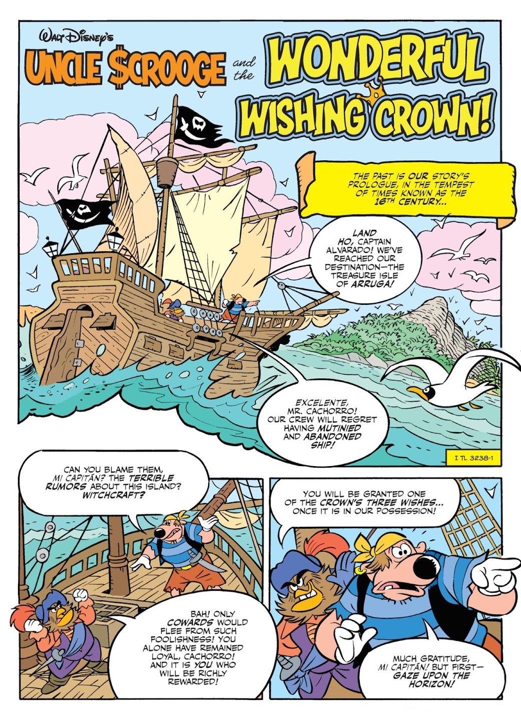 Uncle Scrooge and the Wonderful Wishing Crown!