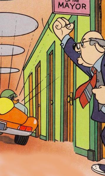 Mayor (Donald Duck, TV Star!)