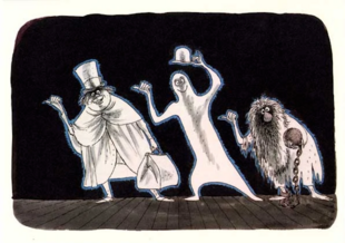 Marc Davis Hitchhikers Sketch
