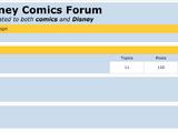 Disney Comics Forum