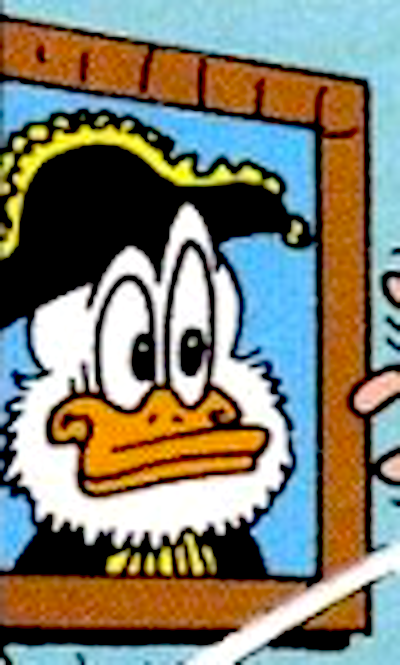 Bicorn Duck