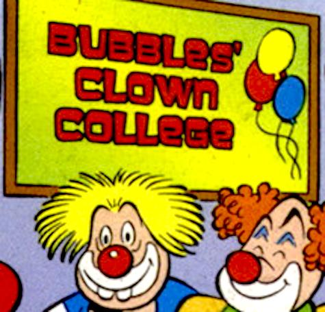 Bubbles' Clown College