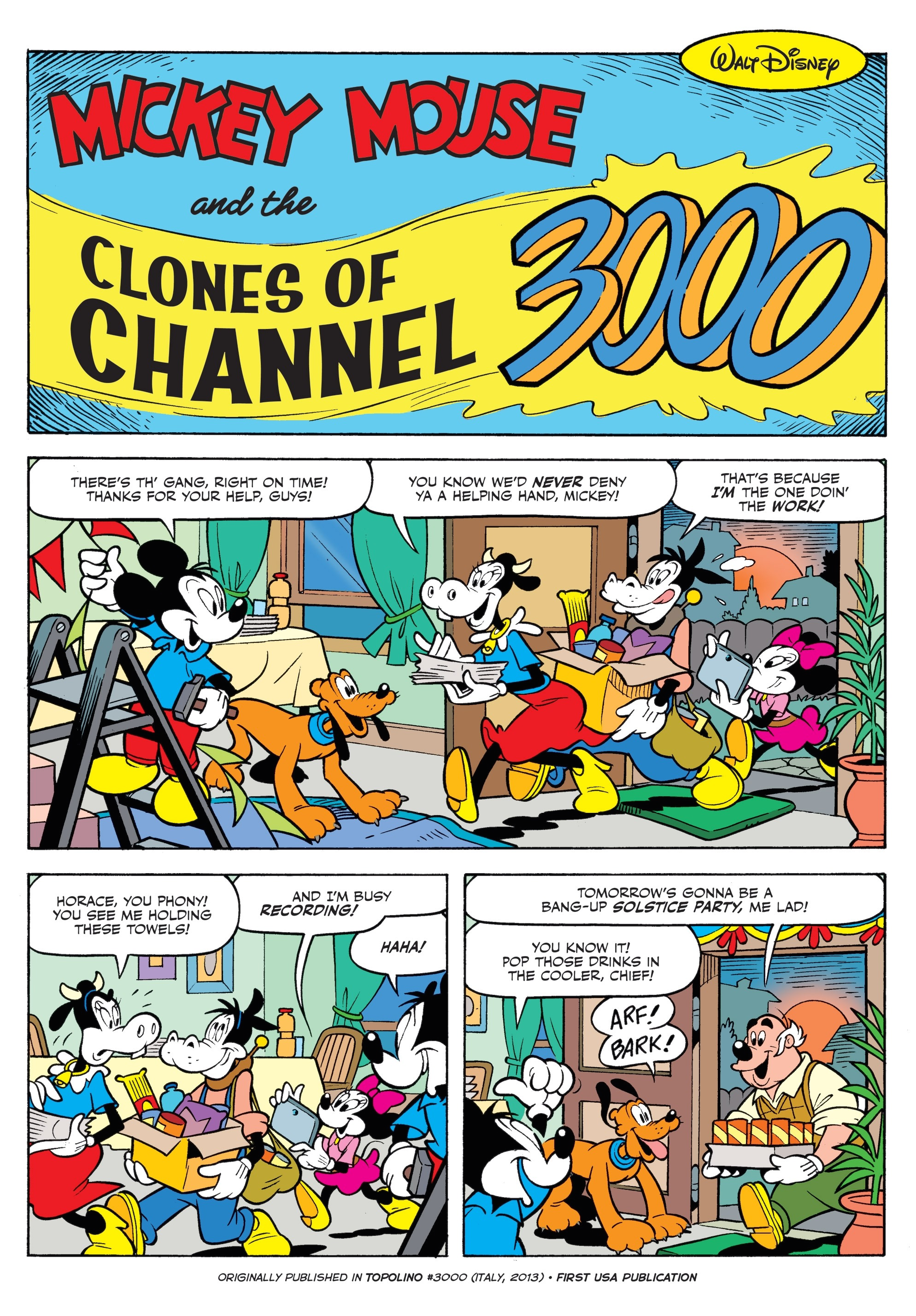 Mickey Mouse and the Clones of Channel 3000