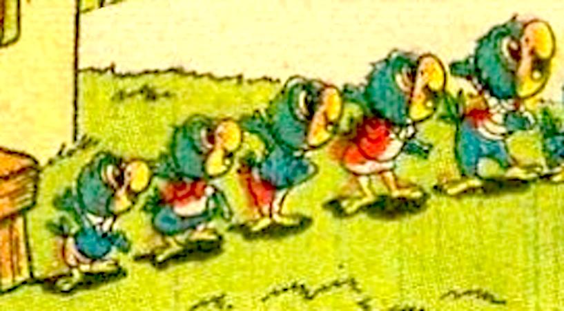 Yellow Beak's Children