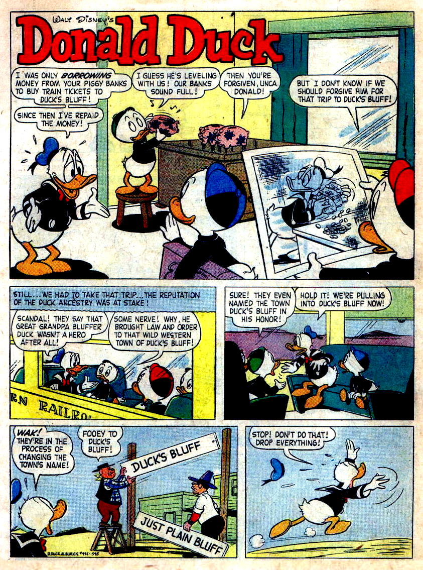 Duck's Bluff Story