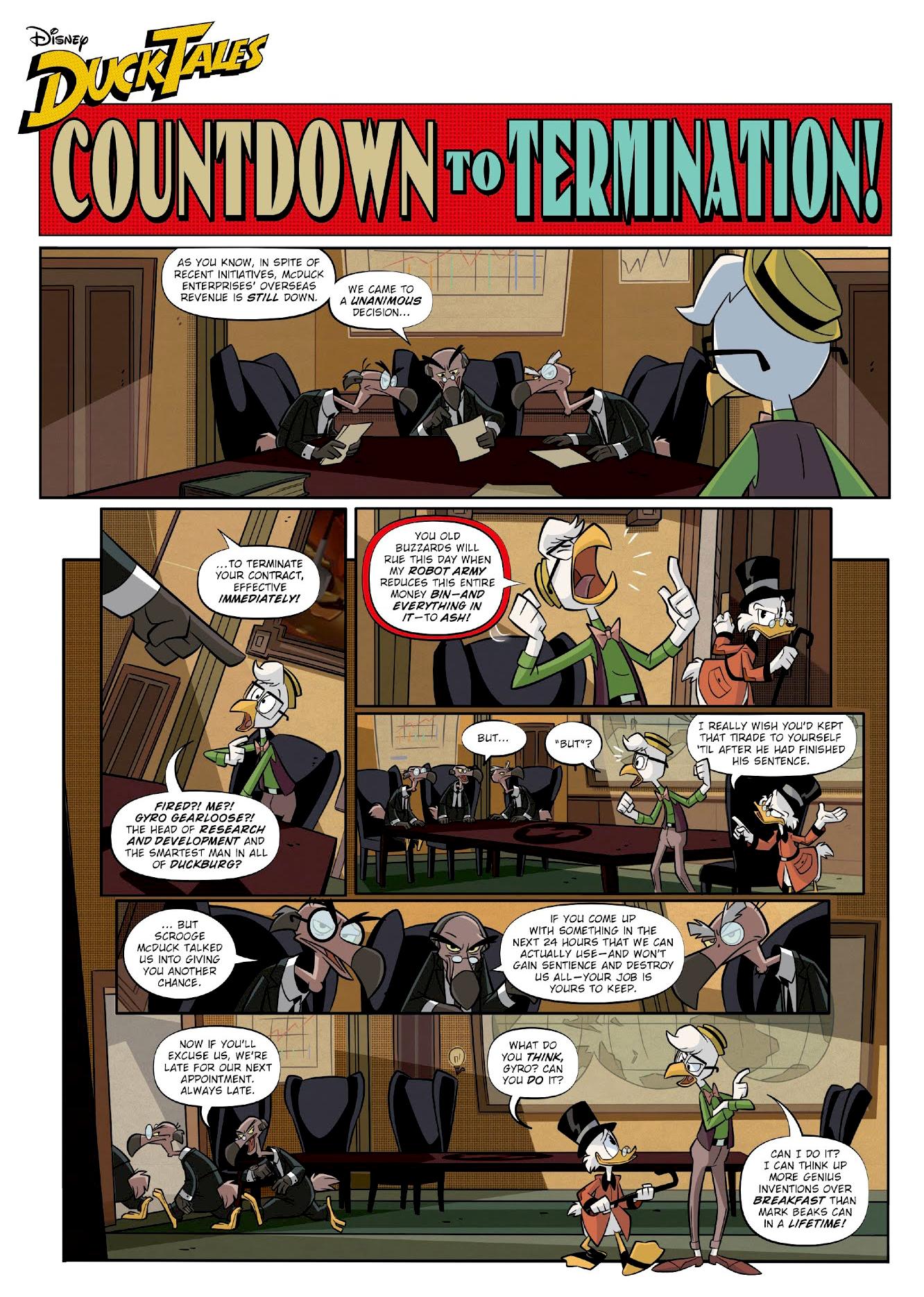 Countdown to Termination